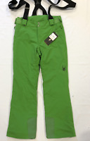 Spyder Transport Ski Pants Green Mens Salopettes Size Small *REF90