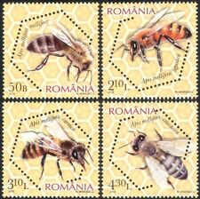 Romania 2010 Honey Bees/Insects/Nature/Conservation/Environment 4v set (n44617)