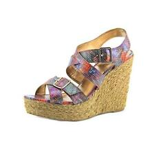 Authentic Madden Girl Stackful Wedge Sandal Size 8.5m US