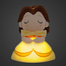 "DISNEY Princess 13"" Belle Glowing Plush Light Doll Beauty & The Beast **NEW**"