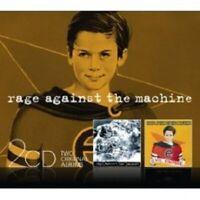 "RATM ""RAGE AGAINST THE MACHINE/EVIL EMPIRE"" NEW 2 CD"