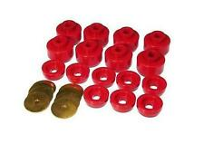 Prothane 99-14 Silverado Sierra 1500 2500 & HD Body Cab Mount Bushing Kit 16pcs