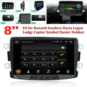 """8"""" HD Android GPS Navigation Car Radio Video Stereo MP5 Player Fit for Renault"""
