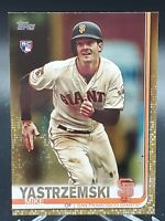 Mike Yastrzemski 2019 Topps Update Gold Parallel RC US-245 Serial #/2019⚾️🔥