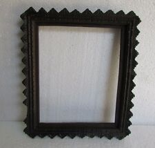 Vintage Hand Crafted Unique Carved Wooden Picture Photo Frame Collectible
