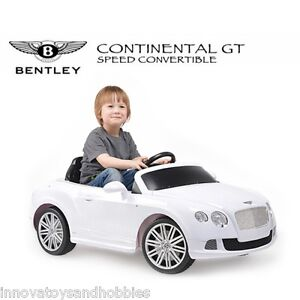 LICENSED BENTLEY CONTINENTAL GT 12V 2 MOTORS RC KIDS ELECTRIC RIDE ON CAR TOY