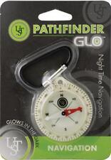 UST PATHFINDER GLO GLOW IN THE DARK COMPASS NAVIGATION BUSHCRAFT SURVIVAL EDC