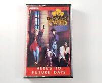 """Thompson Twins """"Here's to Future Days"""" Cassette Tape 1985 Arista Record AC8-8276"""