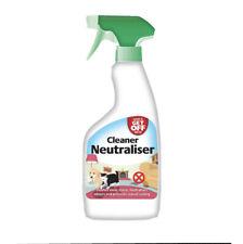 GET OFF Wash Off Indoor Spray Cleaner Neutraliser Urine Stains Deterrent Dog Cat