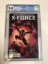 X-Force (2010) # 28 (CGC 9.8 WP) Death Of Nightcrawler | John Cassaday Variant