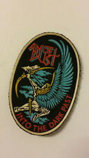 Angel Dust into the dark past vintage logo rubber patch rare rock hardrock