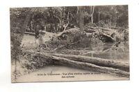 75 - cpa - PARIS - Bois de Vincennes - Rivière après la chute des arbres  (A986)