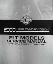 2000 Harley Touring FLH FLT Repair Service Workshop Shop Manual 99483-00A