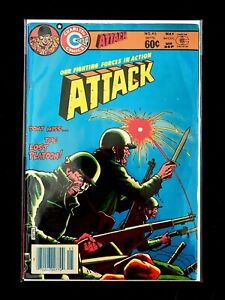 ATTACK #46 CHARLTON COMICS 1984 FN/VF
