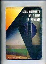 Staggering holidays in Piedmont # Association PIEDMONT ITALY 1977