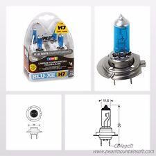 COPPIA LAMPADE ALOGENE BLU-XENON 4500°K H7 12V 55W PX26d PILOT LAMPA