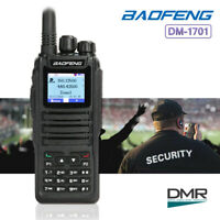Baofeng DM-1701 DMR Tier II Digital Two Way Ham Radio 3000 Channels + USB Cable