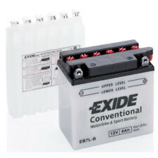 Batterie Moto EXIDE YB7L-B EB7L-B 12v 8Ah 100A 135X75X135MM