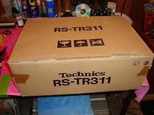 TECHNICS DUAL CASSETTE TAPE DECK RS TR311 OPEN BOX EX DEMO MODEL