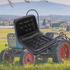 More details for forklift dumper mower tractor seat w/ rails horizontally adjustable waterproof