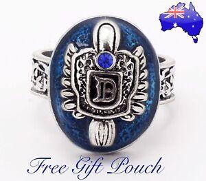 The Vampire Diaries Damon Salvatore Lapis Lazuli Daylight Sunlight Ring Gift New