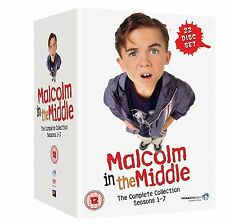 MALCOLM IN THE MIDDLE SEASONS 1-7 COMPLETE COLLECTION DVD BOX SET NEW SERIES