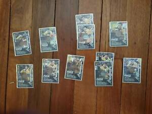 Wallabies 2002 Coca - Cola Rugby CD Cards still in plastic wrap.