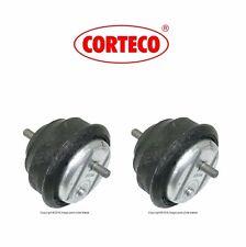 2 OEM Corteco Left+Right Engine Support Motor Mount Set Kit Bushings For BMW 3