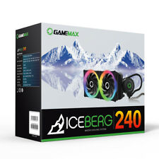OCHW Game Max 240mm Water Cooling System 7 Colour PWM Fans Water Cooling Kit