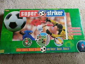 SPEAR'S GAMES SUPER STRIKER FIVE -A-SIDE GAME. GAME IS COMPLETE