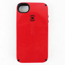 Speck Case iPhone 4 4s Candyshell Red/Black Cover Shell Bumper Skin 2 Layers