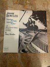 Jimmy Rowles - Sometimes I'm Happy... Orange Blue LP VG++ JAZZ FRENCH IMPORT