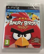 JEU SONY PS 3 ANGRY BIRDS TRILOGY  NEUF blister