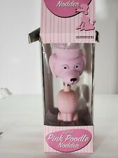 Rare Accoutrements Pink Poodle Collectible Bobblehead NIB