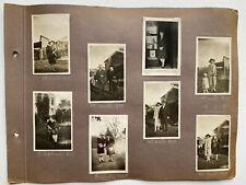 17 PHOTOS collées extrait Album 1926 Courses Nancy Meuse Librairie Tacot Mode