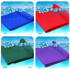 4pcs Magic Ice Towel Super Cooling Towel Fast Dry Sport Towels for Gym Jogging
