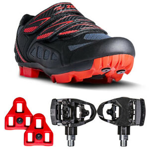 Zol Predator Mtb Mountain Bike and Indoor Cycling Shoes with Dual Pedals