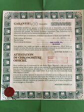Original Vintage Rolex Watch 68278- 9344496 Used   Certificate Guarantee R