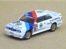 """BMW M3 in weiß, Start-Nr. 18, Heger """"Warsteiner"""", o. OVP, Herpa, 1:87"""