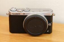 Panasonic LUMIX DMC-GM1 16.0MP Digital Camera - Silver Body Only 3 batteries