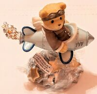 """Cherished Teddies Figurine-Milton """"Wishing For A Future As Bright As The Stars"""""""