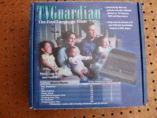 Vintage 1999 Tv Guardian Foul Language Profanity Filter Dvd Never Used