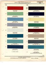 New listing 1953 Oldsmobile 88 Super 88 98 53 Paint Chips Ditzler 3 16 Pc