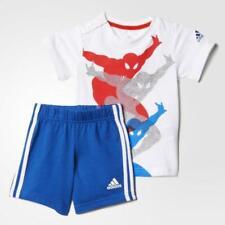 Adidas Marvel Bambini Supereroe Set Avengers Vestito Spiderman Pantaloni