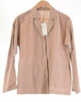 Eileen Fisher NWT Oversized Blazer Size Small in Bramble/Tan $298
