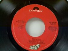 "PEACHES AND HERB ""REUNITED / EASY AS PIE"" 45 NEAR MINT"
