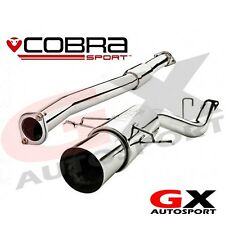 "SB02y Cobra Sport Subaru Impreza WRX STI 01-05 Race Type Cat Back 2.5"" Res"