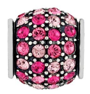 NWOT Brighton CRYSTAL VOYAGE Pink Ombre Bead Charm MSRP $23