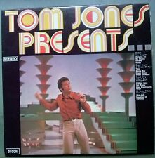 TOM JONES PRESENTS VINYL LP AUSTRALIA