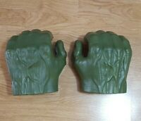 Incredible Hulk Marvel Avengers Gamma Grip Fists Smash Green Hands Figure Gloves